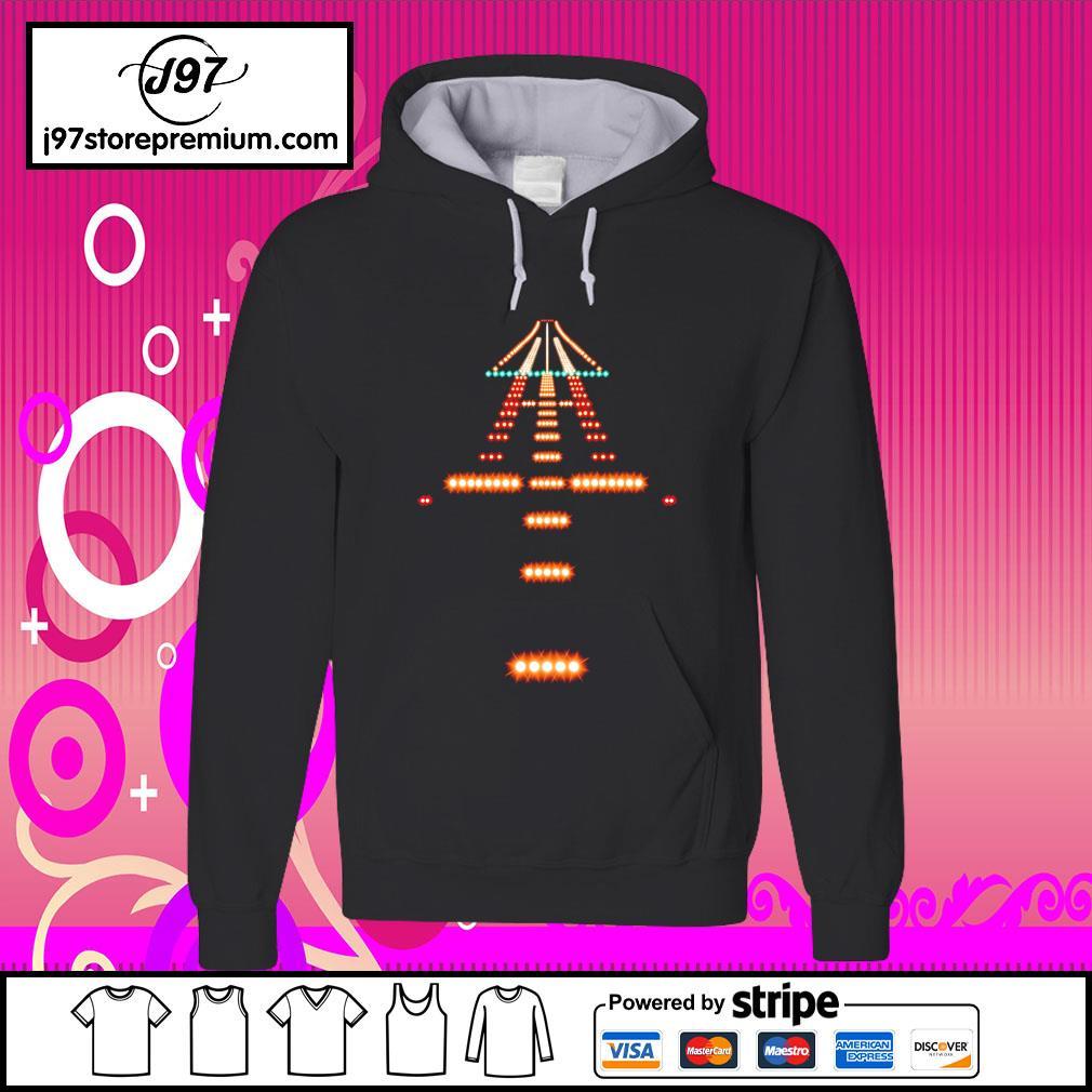 Airport Runway Night s hoodie