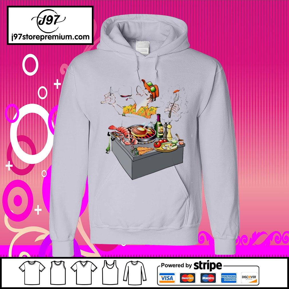 Grillmaster Stock Illustrations cartoon s hoodie