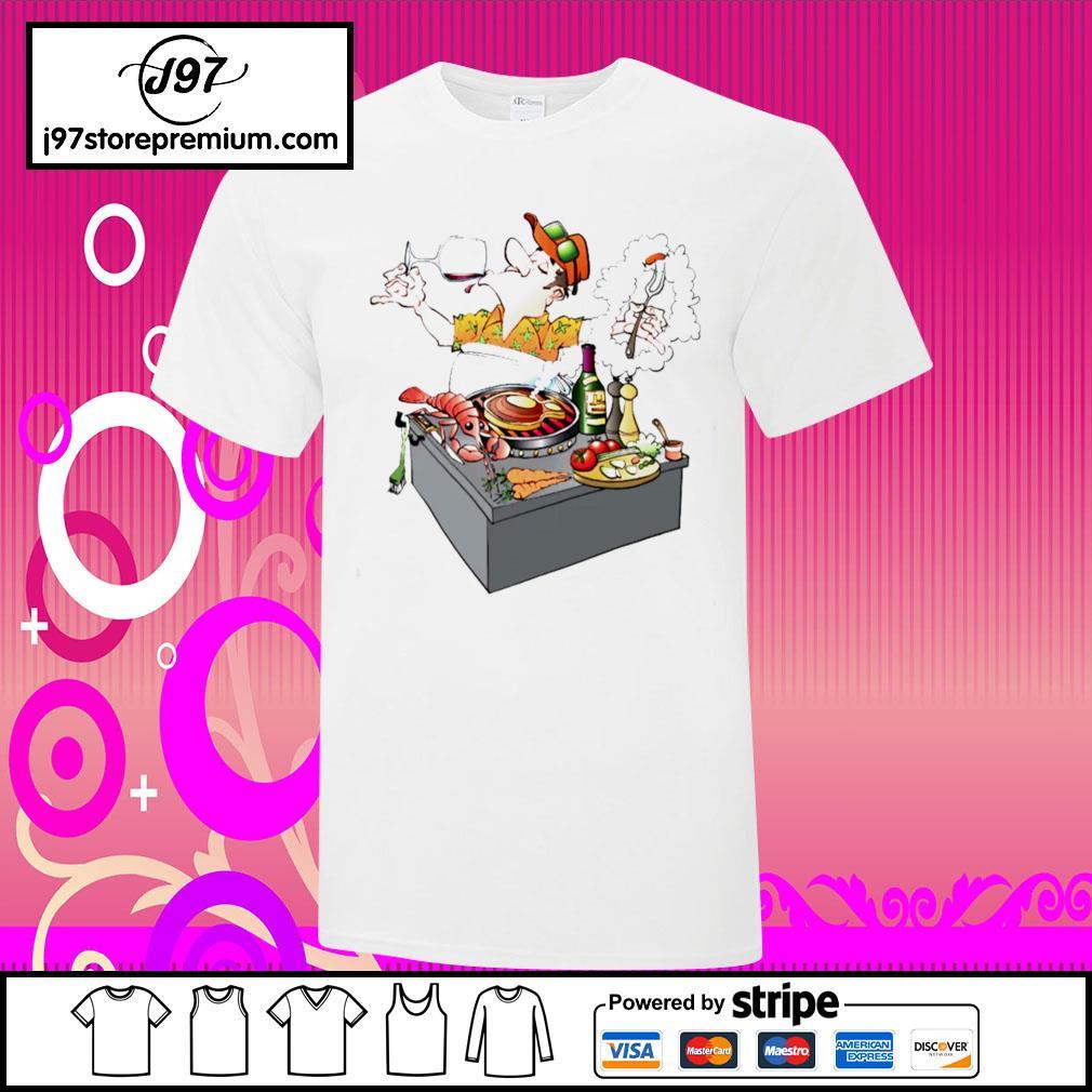 Grillmaster Stock Illustrations cartoon shirt