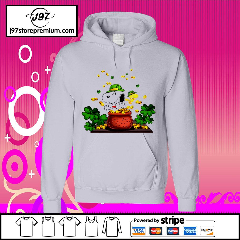 St.Patrick's Day Snoopy and Woodstock s hoodie