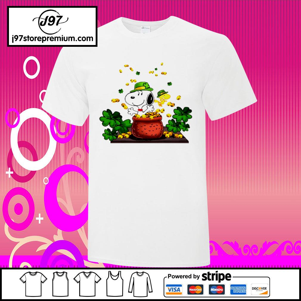 St.Patrick's Day Snoopy and Woodstock shirt