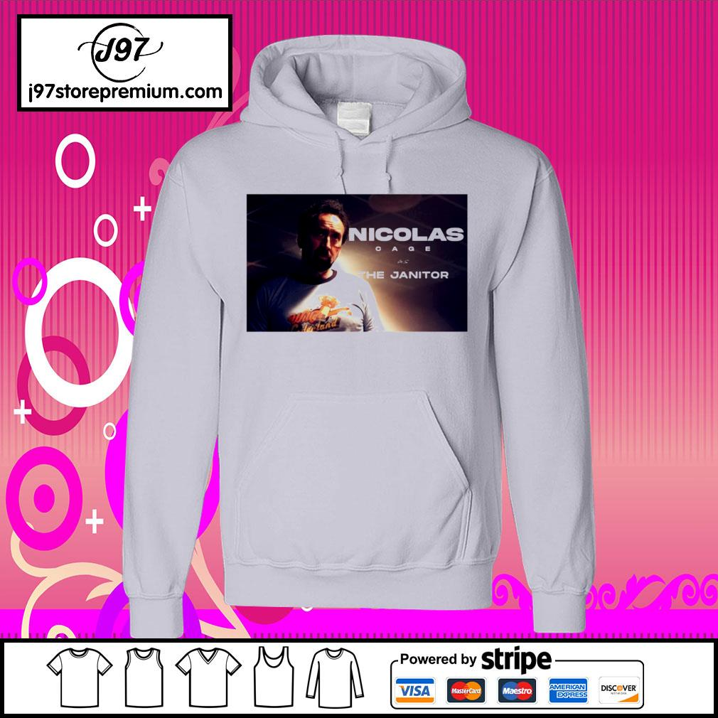 Willy's Wonderland Nicolas cage as the Janitor s hoodie