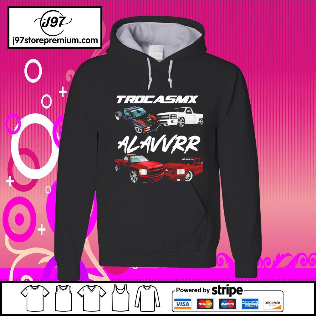 Trocasmx alavvrr car hoodie