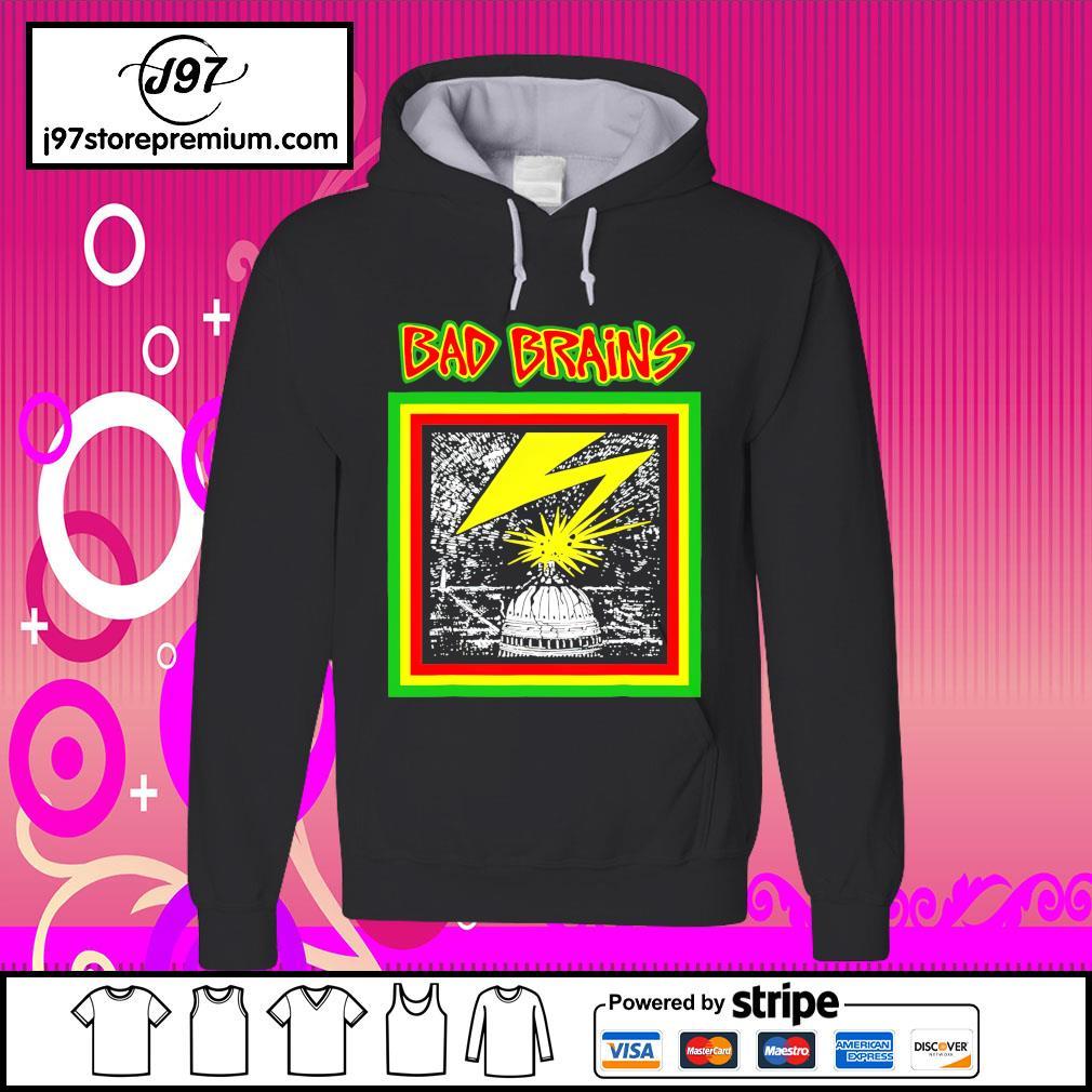 Bad Brains Merchant hoodie