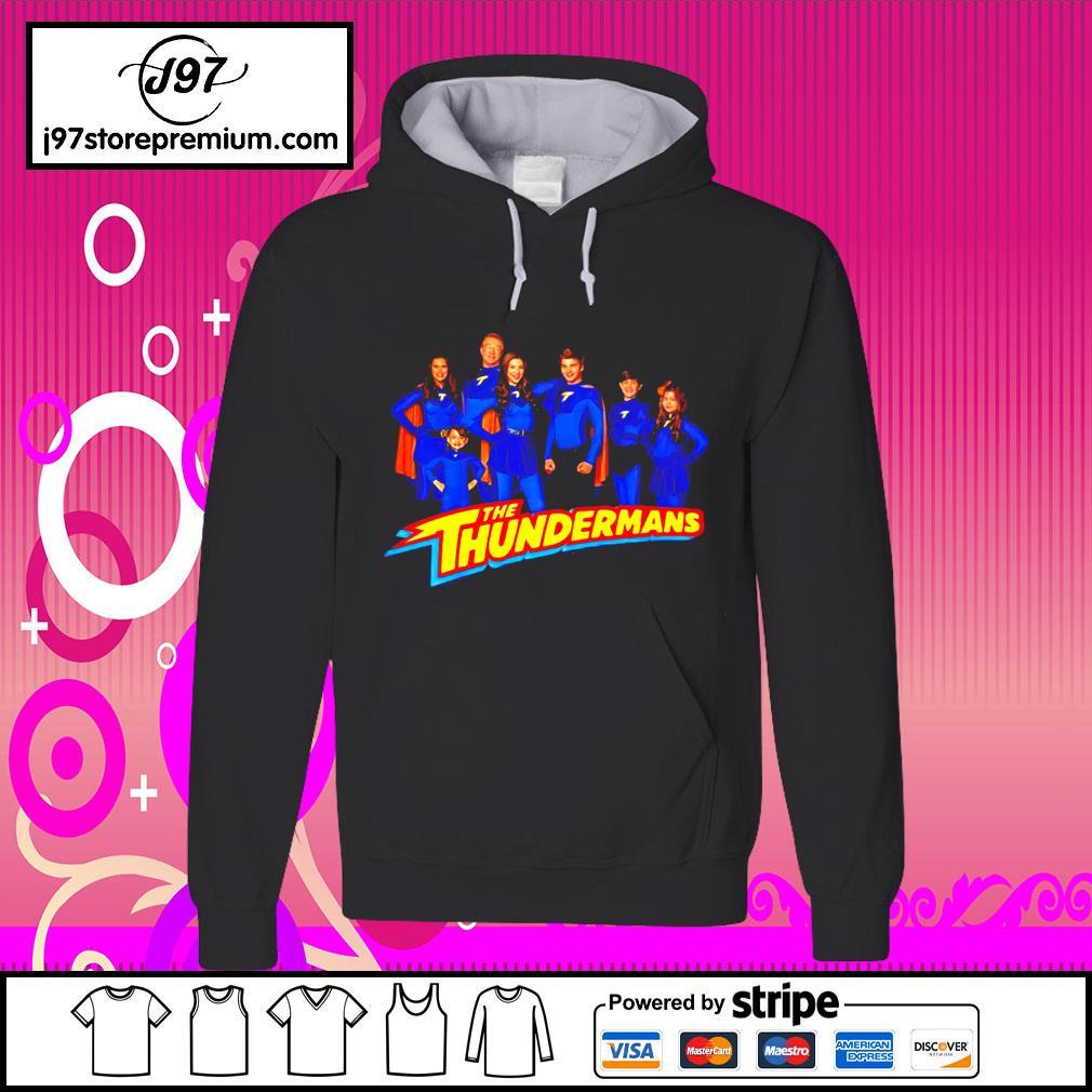The Thundermans Family Group Shot Logo hoodie