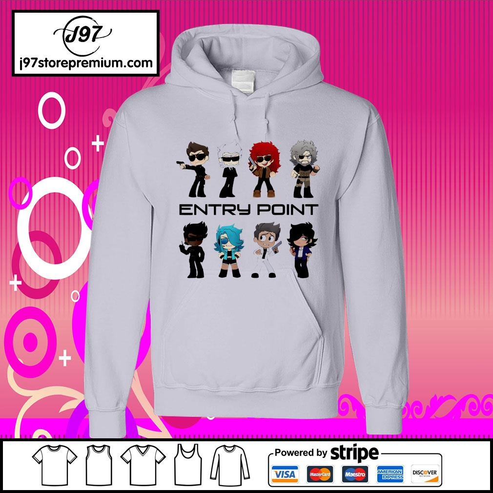 Entry point hoodie