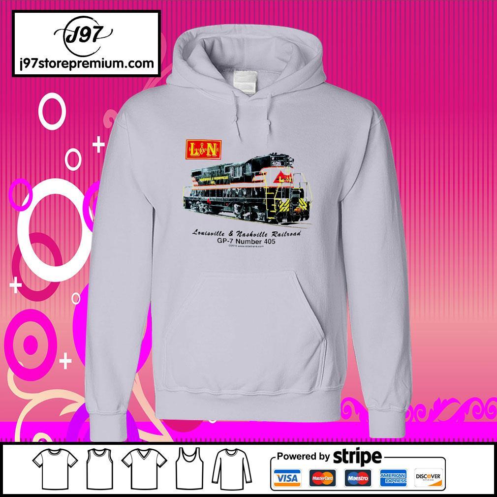 Louisville and Nashville Railroad GP-7 number 405 hoodie