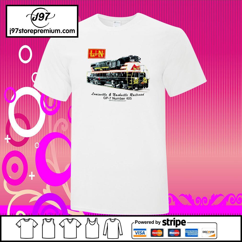 Louisville and Nashville Railroad GP-7 number 405 shirt
