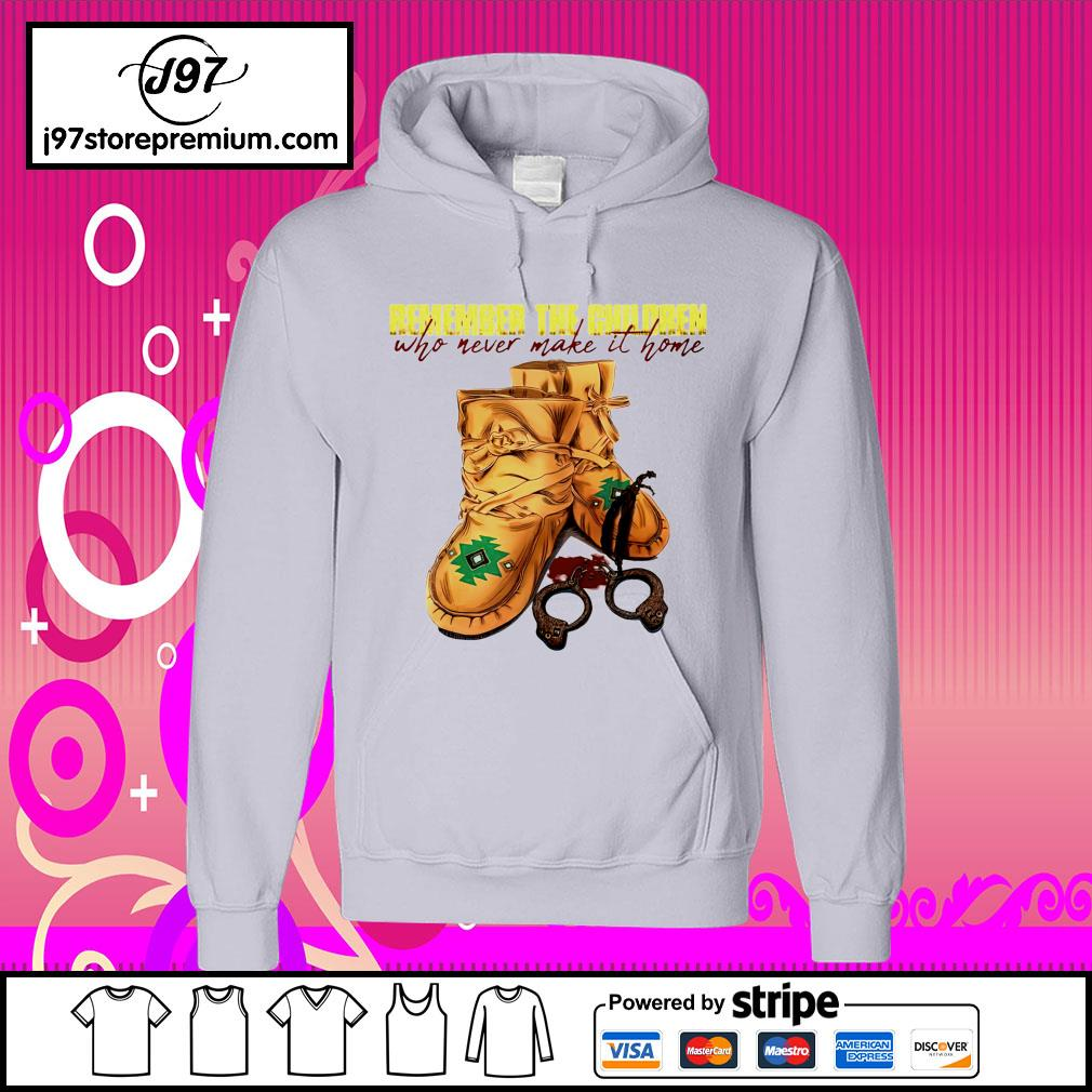 Remember the children who never make it home hoodie